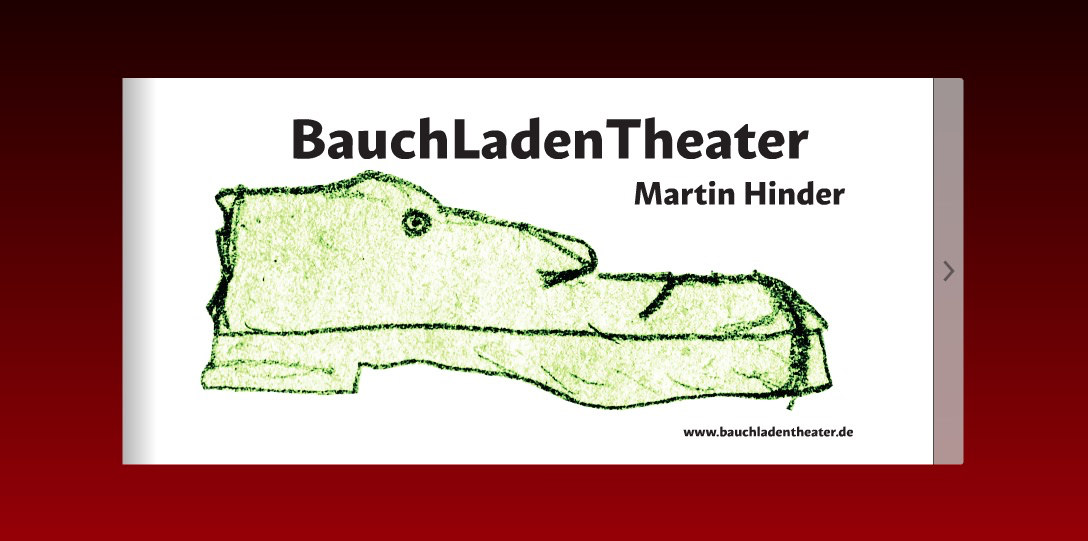 Bauchladentheater-Flippingbook-Cover